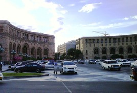 Republic Square - The central Square in the Yerevan